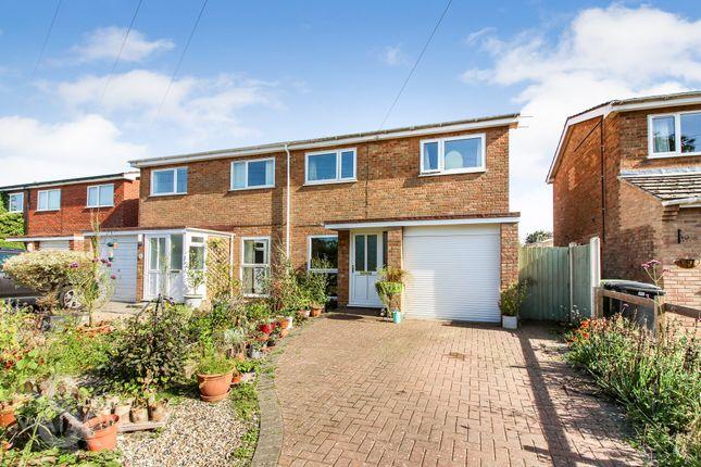 3 bed semi-detached house for sale in New Road, Hethersett, Norwich NR9