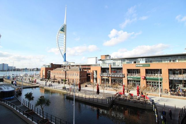 Thumbnail Flat for sale in The Canalside, Gunwharf Quays, Portsmouth