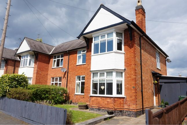 Thumbnail Semi-detached house for sale in Kirkland Road, Braunstone Town