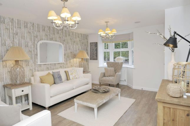 "Thumbnail Semi-detached house for sale in ""Kennett"" at Birmingham Road, Bromsgrove"