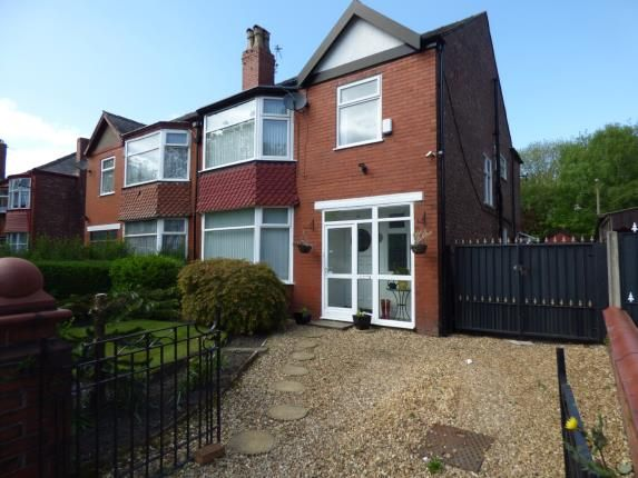Thumbnail Semi-detached house for sale in Brantingham Road, Whalley Range, Greater Manchester