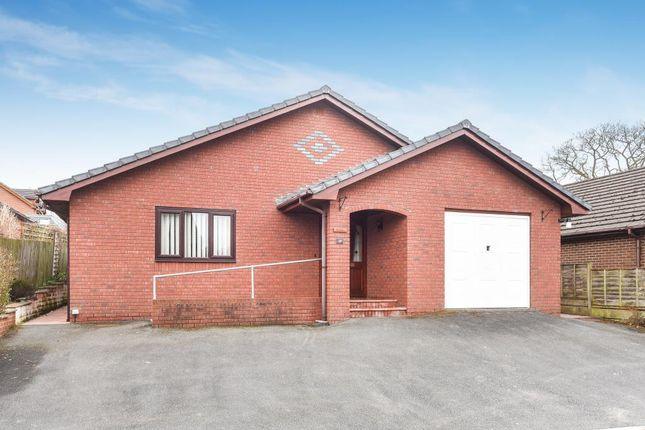 Thumbnail Detached bungalow for sale in Crabtree Green, Llandrindod Wells