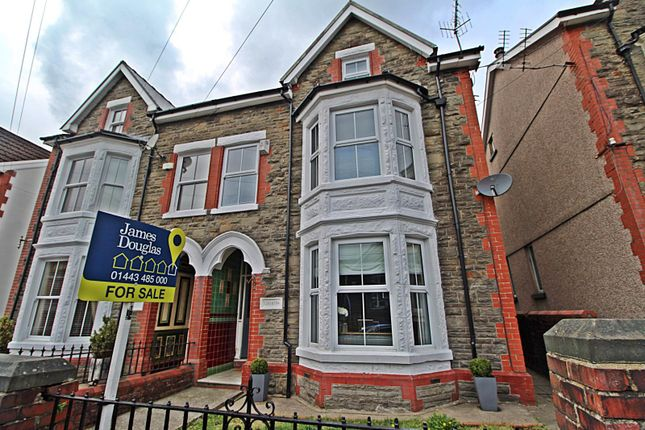Thumbnail Semi-detached house for sale in Glyncoli Road, Treorchy, Rhondda Cynon Taff