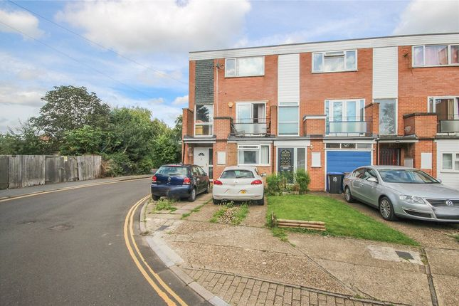 Thumbnail End terrace house for sale in Bull Stag Green, Hatfield, Hertfordshire