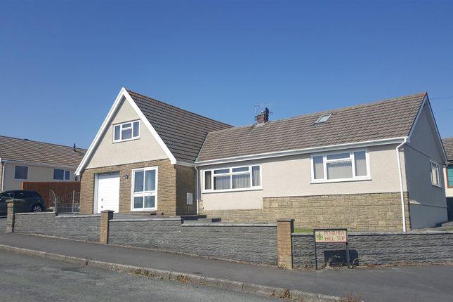 Thumbnail Detached bungalow for sale in Hilltop, Felinfoel, Llanelli
