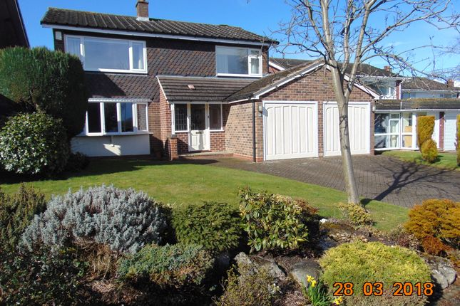 Thumbnail Detached house to rent in Leandor Drive, Streetly, Sutton Coldfield