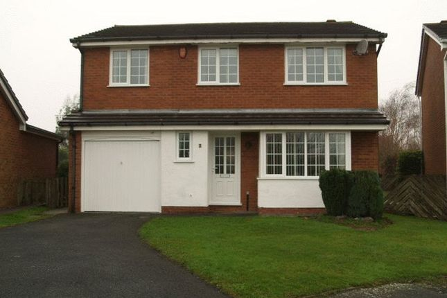Thumbnail Detached house to rent in Whitebeam Close, The Rock, Telford