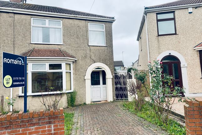 Thumbnail Semi-detached house to rent in Woodland Avenue, Kingswood, Bristol