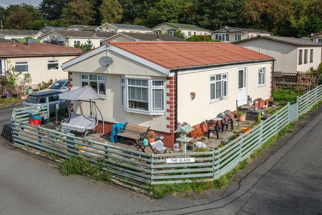 Thumbnail Bungalow for sale in The Glade, Caerwnon Park, Builth Wells