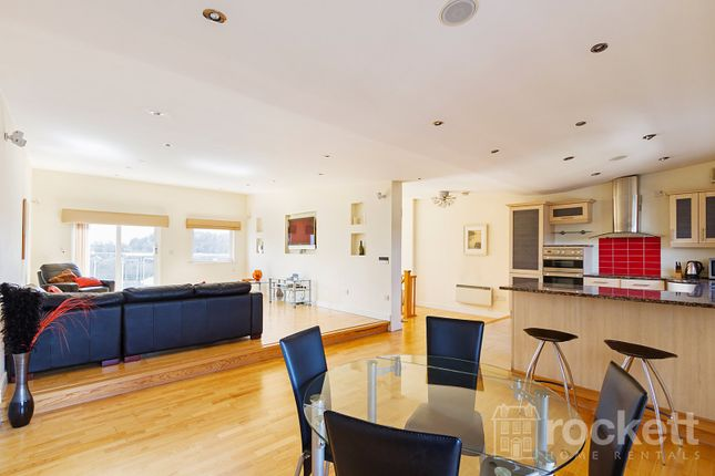 Thumbnail Flat to rent in London Road, Newcastle-Under-Lyme