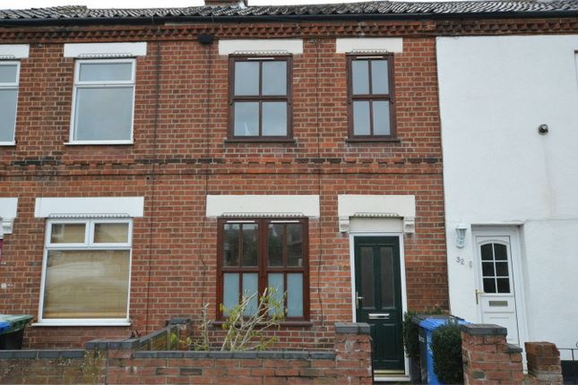 Thumbnail Terraced house for sale in Heath Road, Norwich