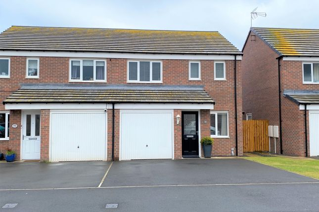 3 bed semi-detached house for sale in Alnwick Way, Amble, Morpeth NE65