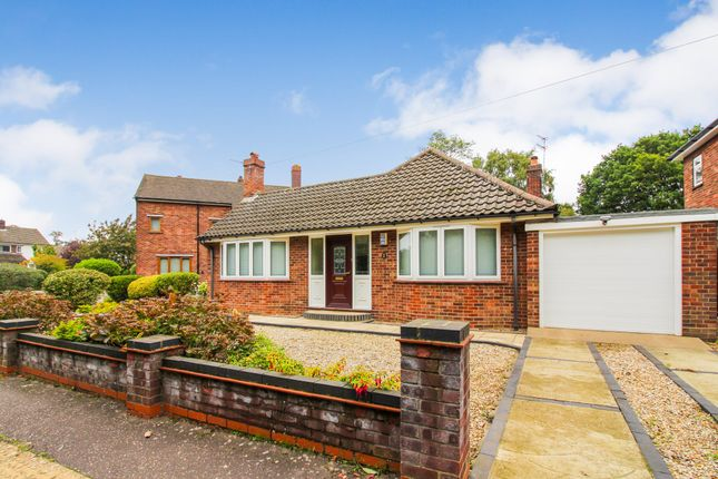 Thumbnail Detached bungalow for sale in Mansel Drive, Old Catton, Norwich