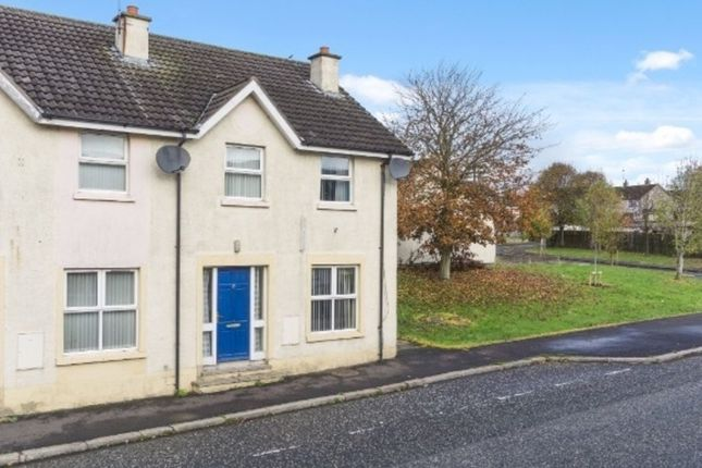 Thumbnail End terrace house for sale in Gallows Place, Dromore
