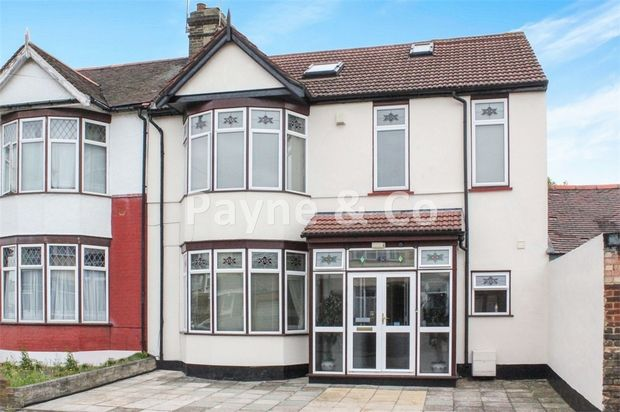 Thumbnail End terrace house for sale in Talbot Gardens, Seven Kings, Essex