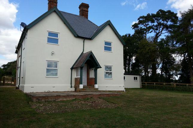 Thumbnail Detached house to rent in Willesley Warren, Overton, Basingstoke