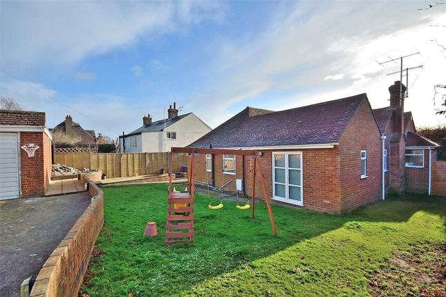 Thumbnail Detached bungalow for sale in Manor Road, North Lancing, West Sussex