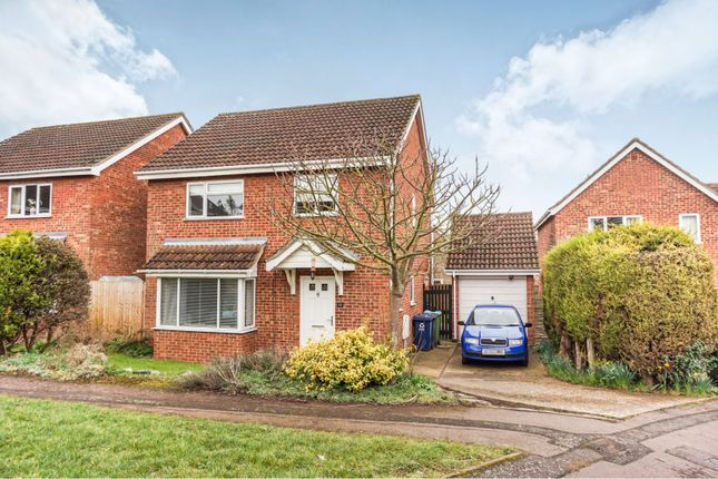 Thumbnail Detached house for sale in Otter Way, Eaton Socon