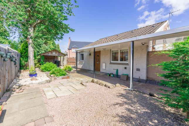 Thumbnail Bungalow for sale in Dunlappie Road, Edzell, Brechin