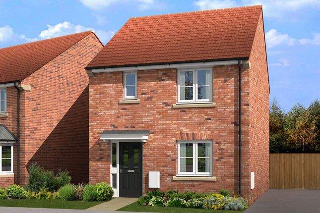 "Thumbnail Semi-detached house for sale in ""The Russet"" at Cobblers Lane, Pontefract"