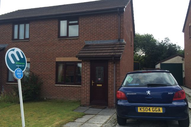 Thumbnail Semi-detached house to rent in Penwithick, St Austell, Cornwall