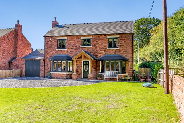 Thumbnail Detached house for sale in The Sidings, Frogmore Road, Market Drayton