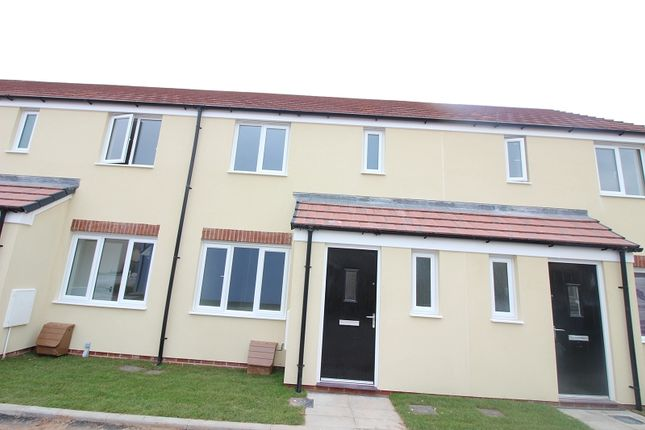 Thumbnail Terraced house to rent in 36A Turnberry Close, Cloverfields, Milford Haven