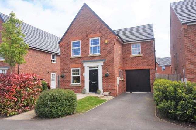 Thumbnail Detached house for sale in Findley Cook Road, Highfield, Wigan