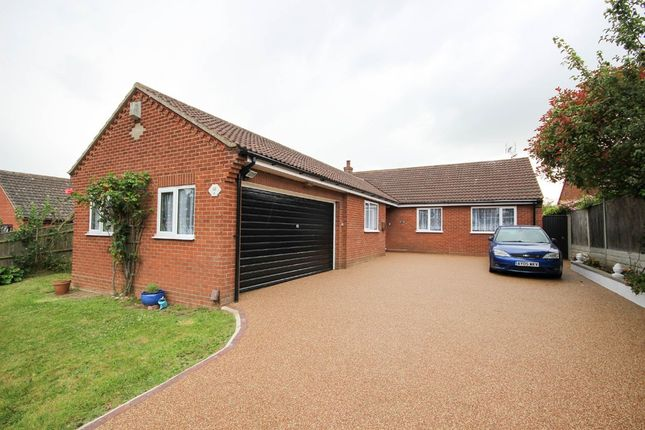 Thumbnail Detached bungalow for sale in Villarome, Caister-On-Sea, Great Yarmouth