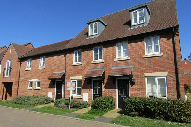 Thumbnail Terraced house to rent in St Jacques Way, Denmead, Waterlooville, Hampshire