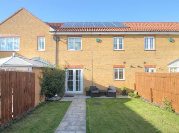 Thumbnail Terraced house to rent in Dovecote Drive, Chester Le Street