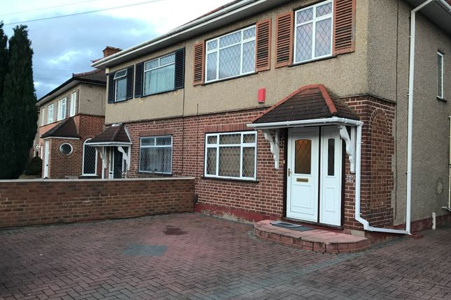 Thumbnail Semi-detached house to rent in Goshawk Gardens, Hayes
