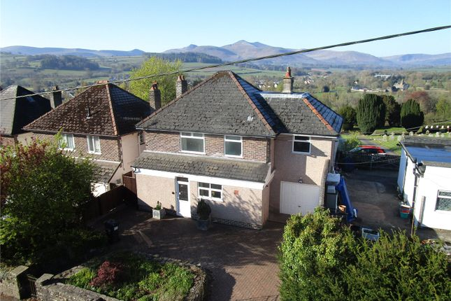 Thumbnail Detached house for sale in Cradoc Road, Brecon, Powys