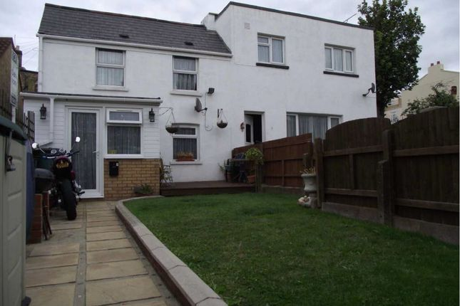 Thumbnail End terrace house to rent in Wellington Gardens, Margate