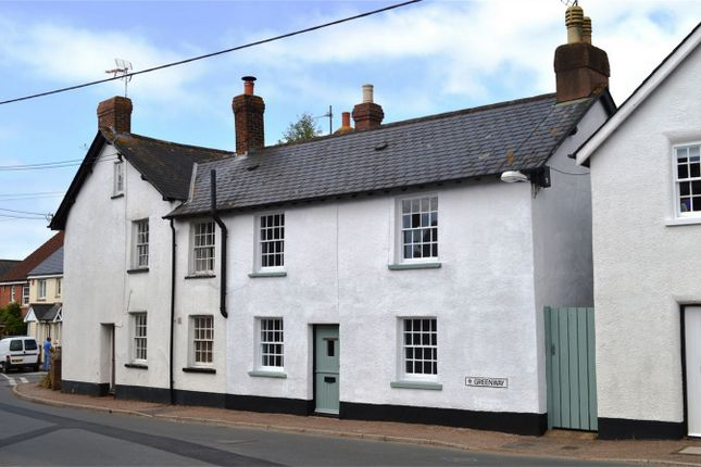 Thumbnail End terrace house for sale in 33 Greenway, Woodbury, Exeter, Devon