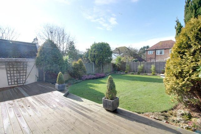 Garden At Back of Rostron Crescent, Formby, Liverpool L37
