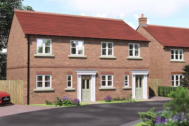 Thumbnail Semi-detached house for sale in The Cherry Manor Court, York Road, Barlby, Selby