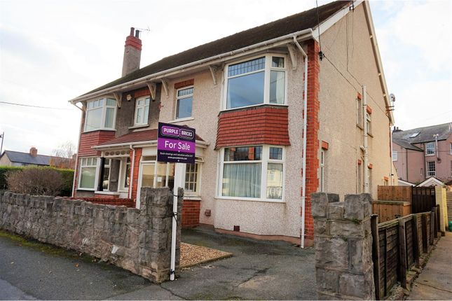 Thumbnail Semi-detached house for sale in Kinmel Avenue, Abergele