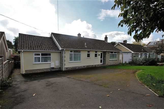 Thumbnail Detached bungalow for sale in Old Coach Road, Axbridge