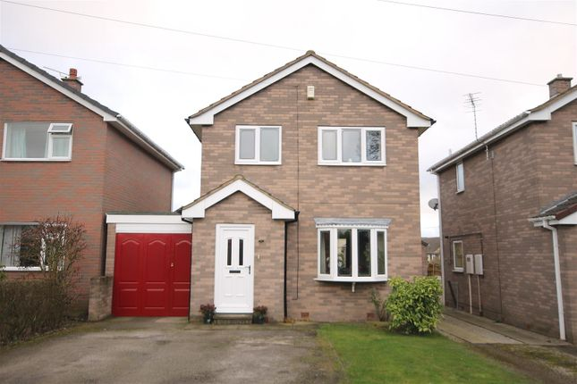 Thumbnail Detached house for sale in Dale View Close, Lower Pilsley, Chesterfield