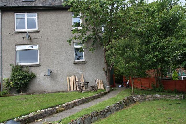 Thumbnail Flat for sale in Burnbank Terrace, Ardrishaig, Argyll