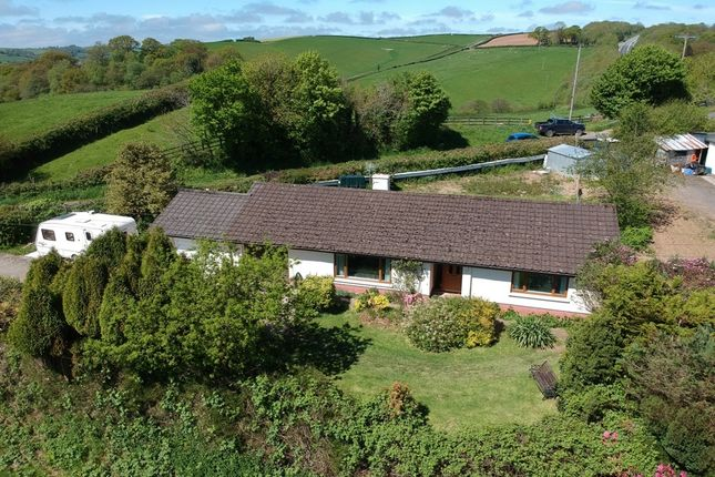 Thumbnail Detached bungalow for sale in Ash Mill, South Molton