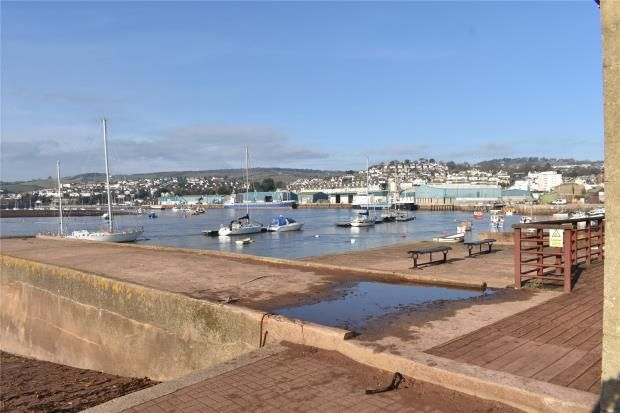 Back Beach of Morgans Quay, Strand, Teignmouth, Devon TQ14