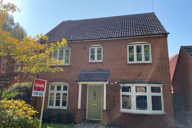 Thumbnail Detached house for sale in Purser Drive, Chase Meadow Square, Warwick