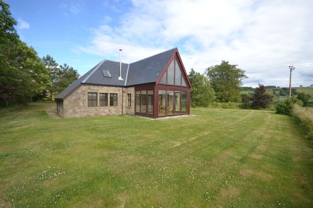 Thumbnail Detached house to rent in Macbiehill, West Linton, Borders