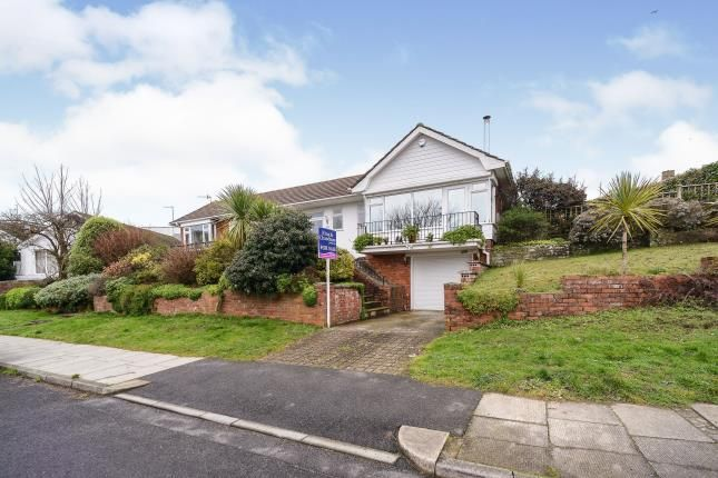 Thumbnail Bungalow for sale in Bishopstone Drive, Saltdean, Brighton, East Sussex