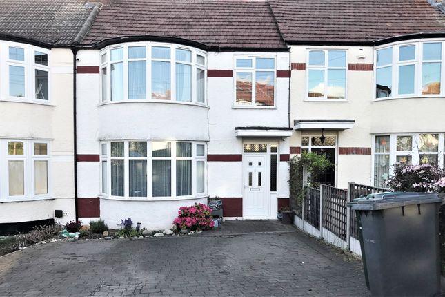 3 bed terraced house for sale in Windsor Drive, East Barnet EN4