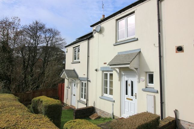 Thumbnail End terrace house to rent in Harebell Close, Pillmere, Saltash