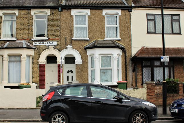 Thumbnail Terraced house to rent in Boundary Road, Plaistow