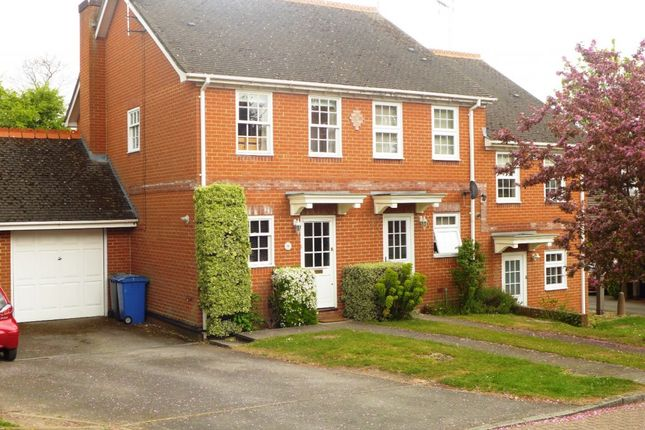 Thumbnail Semi-detached house for sale in Harebell Close, Hartley Wintney, Hook